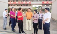 湛江市人民政府副市长崔青调研新南方学校